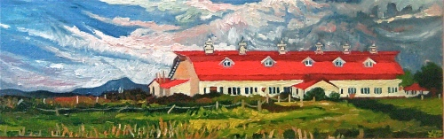 """Nordic Farms Red Red Roof"""