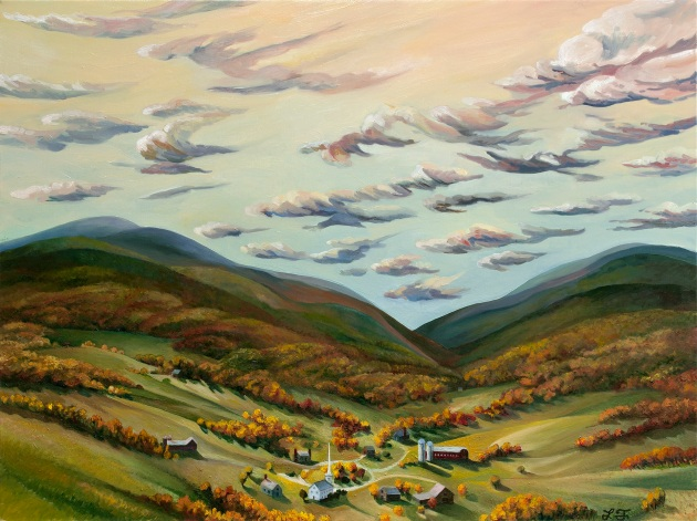 """30"""" x 40"""" Oil on Linen. Commission. No prints available."""